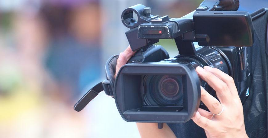 Web制作の動画撮影